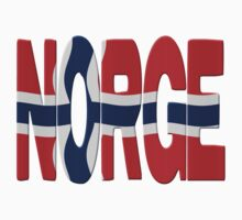 Norway flag One Piece - Short Sleeve