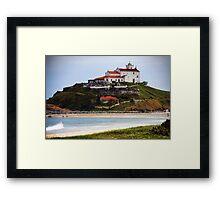 Saquarema's Church - Beach - Brazil Framed Print