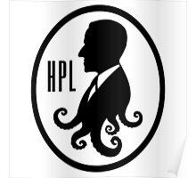 Howard Phillips Lovecraft silhouette Poster
