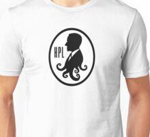 Howard Phillips Lovecraft silhouette Unisex T-Shirt