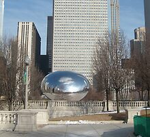 Cloud Gate a.k.a The Bean by amak