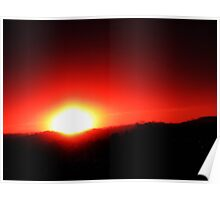 As The City Sleeps - Early Morning Sunrise Poster