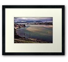 Saquarema City, winter - Beach - Brazil Framed Print