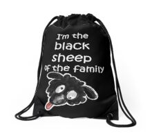 Black Sheep Drawstring Bag