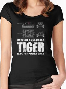 TIGER TANK Women's Fitted Scoop T-Shirt