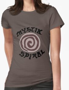 The Spiral Womens Fitted T-Shirt