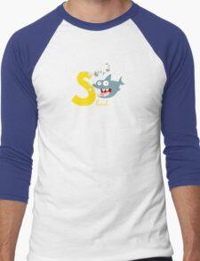 s for shark Men's Baseball ¾ T-Shirt