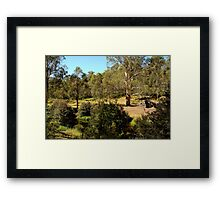 Bindaree Hut,Victorian High Country Framed Print