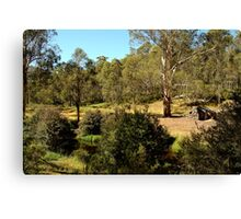 Bindaree Hut,Victorian High Country Canvas Print