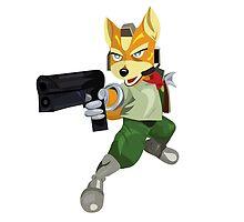 Nintendo Fox McCloud StarFox Melee Design by niymi