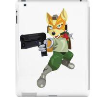 Nintendo Fox McCloud StarFox Melee Design iPad Case/Skin