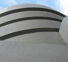 Solomon R. Guggenheim Museum by SilverLilyMoon