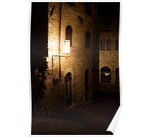 Tuscan Night Poster