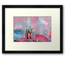 Trumpeting the Stone Framed Print