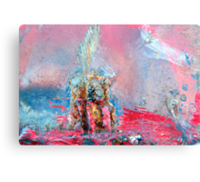 Trumpeting the Stone Canvas Print