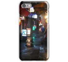 Tokyo Side Street iPhone Case/Skin