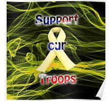 Yellow Ribbon Troop Awareness Poster
