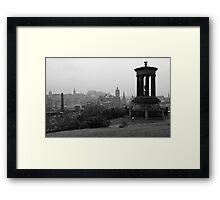 Auld Reekie Framed Print