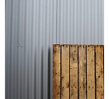 Pallet vs. metal Photographic Print