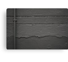 Perpendicular and parallel in grey Canvas Print