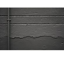 Perpendicular and parallel in grey Photographic Print