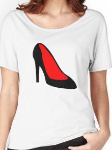 High Heel Shoe Women's Relaxed Fit T-Shirt