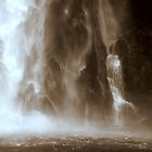 In the Hall of the Mountain King- The Waterfall. by Ben Loveday