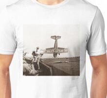World War 2 Aircraft crash  Unisex T-Shirt