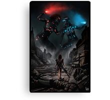 Cyberpunk Painting 055 Canvas Print