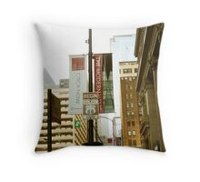 Route 66 Continued Throw Pillow