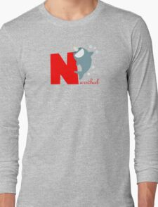 n for narwhal Long Sleeve T-Shirt