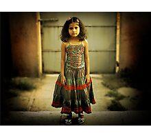 Sad Girl  Photographic Print