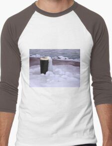 Frozen Bin  Men's Baseball ¾ T-Shirt