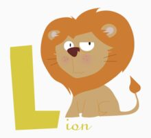 l for lion Kids Tee