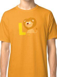 l for lion Classic T-Shirt