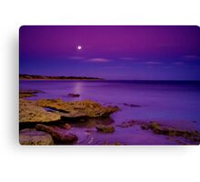 """Impossible Moonlight Encounter"" Canvas Print"