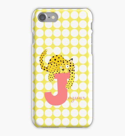 j for jaguar iPhone Case/Skin