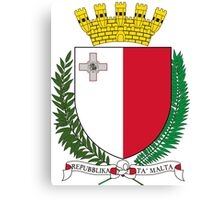 Coat of Arms of Malta Canvas Print
