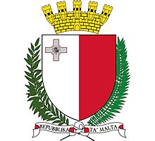 Coat of Arms of Malta Photographic Print