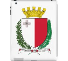Coat of Arms of Malta iPad Case/Skin