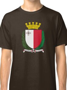 Coat of Arms of Malta Classic T-Shirt
