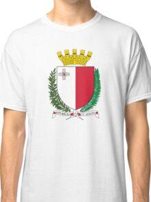 Coat of Arms of Malta Classic T-Shirt