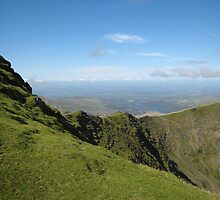 Ridge, Mount Snowdon by Catherine Young