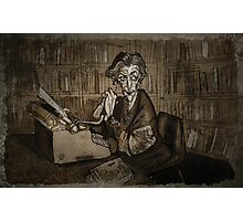 Librarian woman Photographic Print