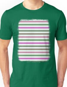 Pink Roses in Anzures 1 Stripes 1H Unisex T-Shirt