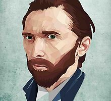 Vincent Van Gogh by SELF TOON
