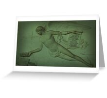 The Egyptological Collections  Greeting Card