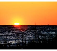 Sunrise Birds eye Photographic Print