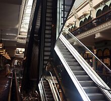 Stairway to Shopping Heaven by Martyn Baker | Martyn Baker Photography