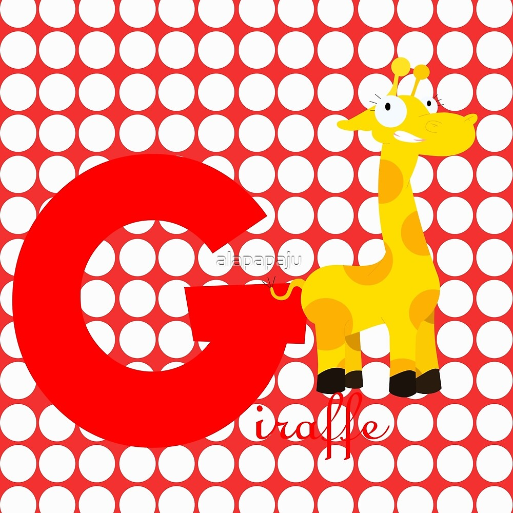 g for giraffe by alapapaju